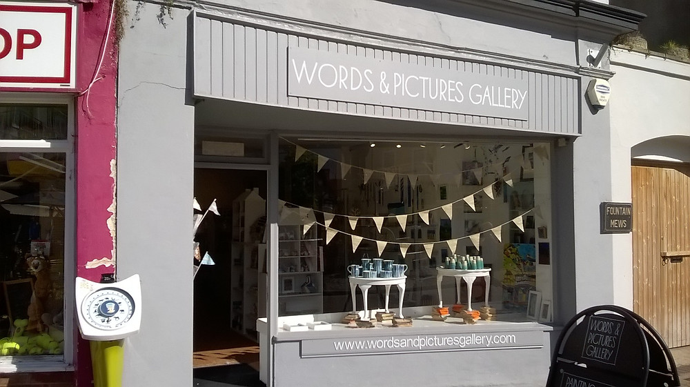 Words & Pictures Gallery Teignmouth