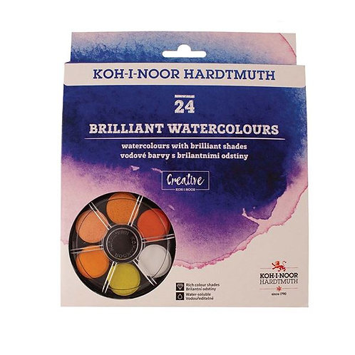 Anilinky Brilliant Watercolours - set of 24