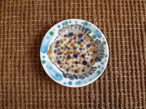 Renee Kilburn Flat Fish Small Plate