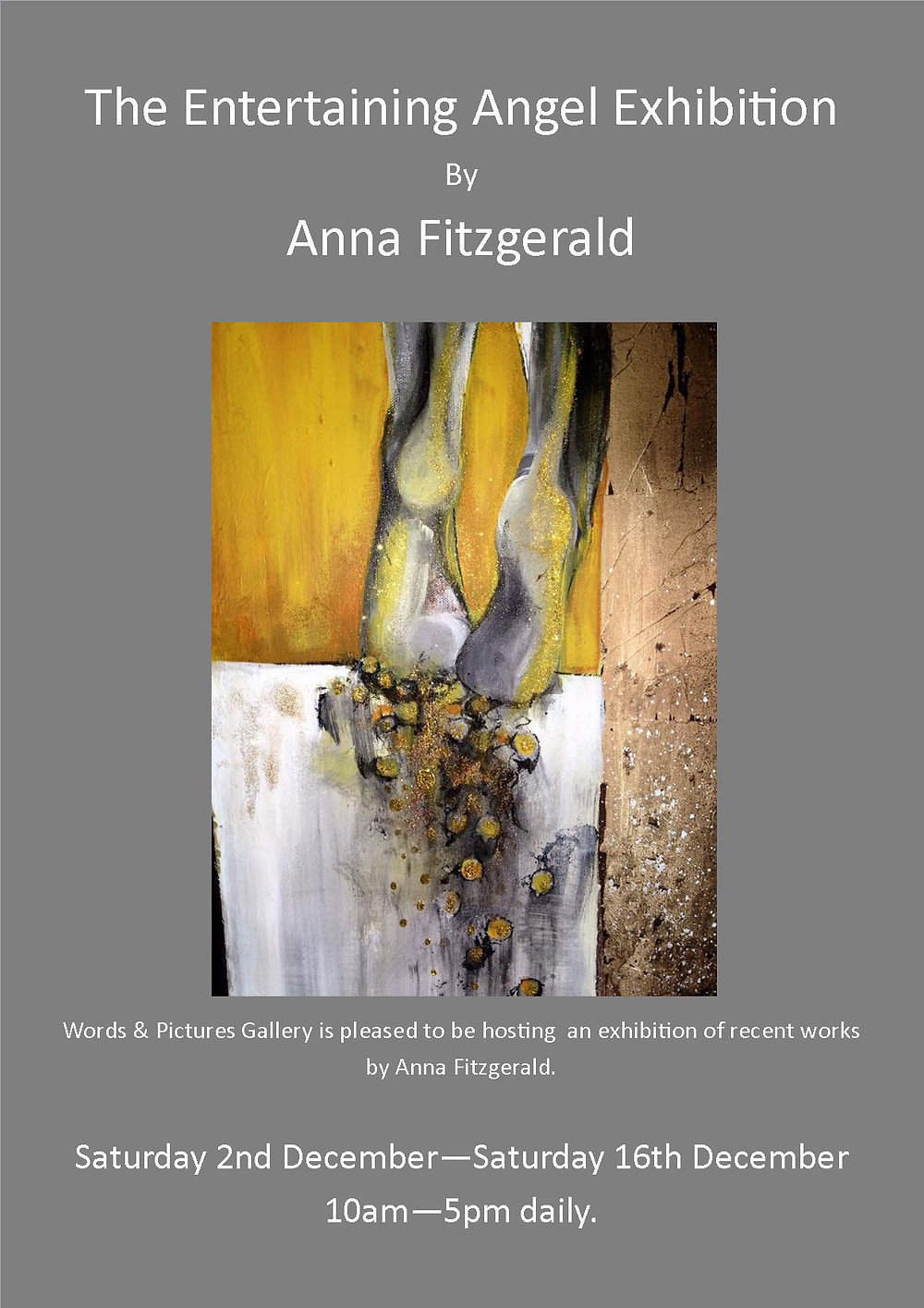 Anna Fitzgerald Exhibition Teignmouth