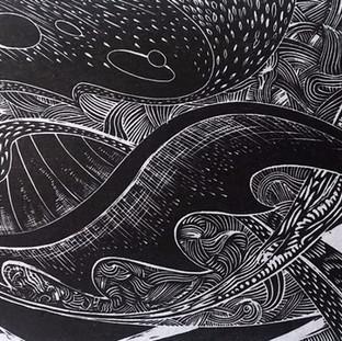 Paul Warner - handmade print 2