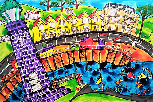 'Tricks 'N' Flicks, Teignmouth' by Fran Hale