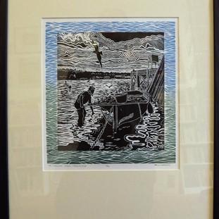 Paul Warner handmade print