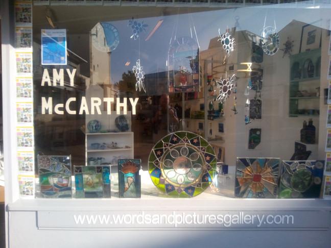 Amy McCarthy Glass Artist