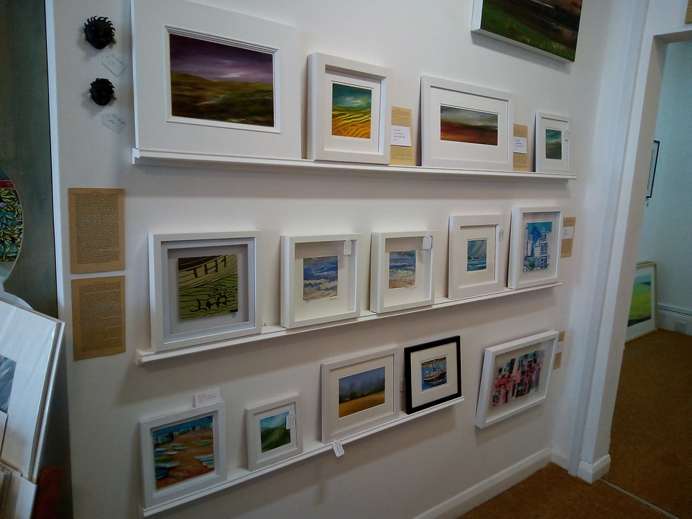 Original paintings from local Devon Artists