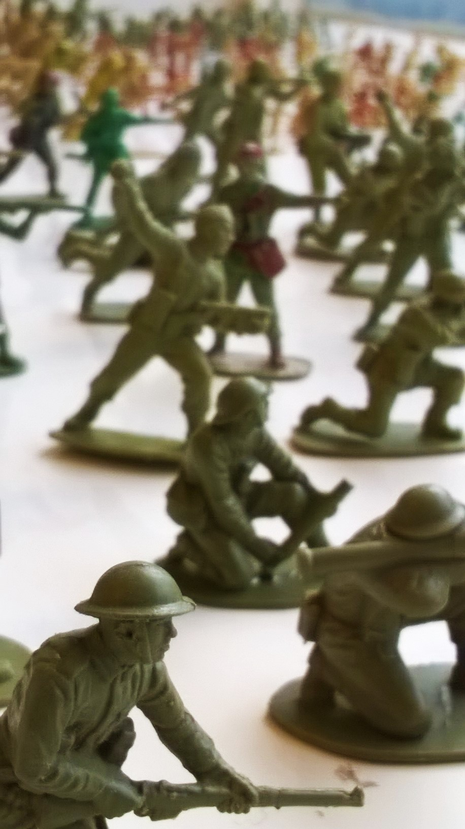 Airfix toy soldier collection