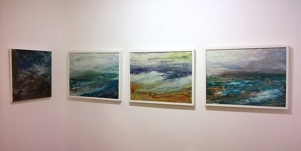 Painting, Rachael Bennett, exhibition