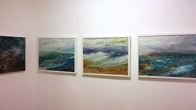 Fantastic Paintings By Rachael Bennett - Exhibition on until 1st July