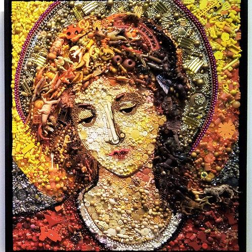 'Angel - After John Melluish Strudwick' By Jane Perkins