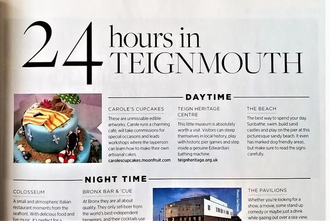 We are in 'Devon Life' Magazine!