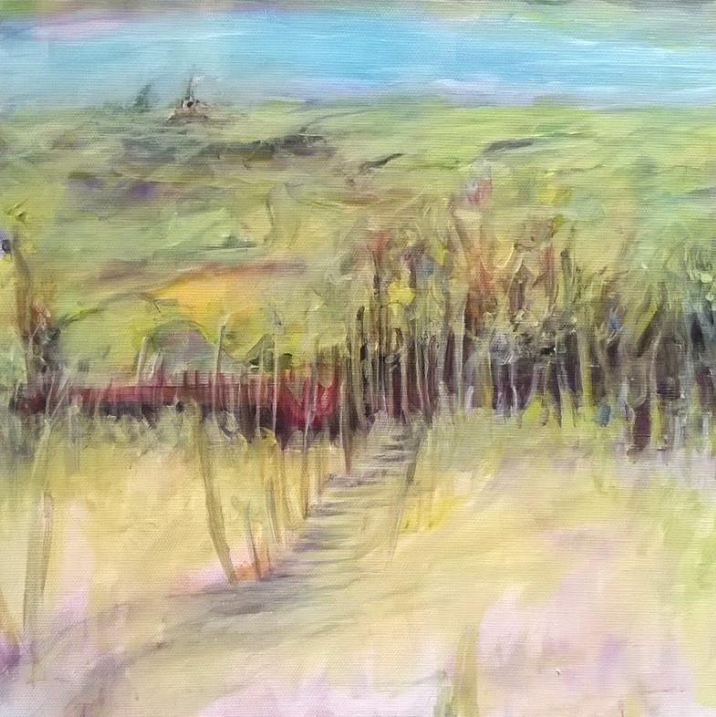 Tracy Kirby - Acrylic Painting Devon