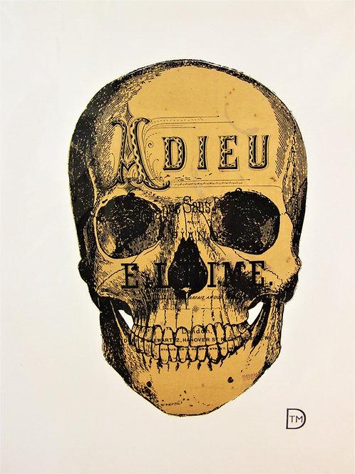 Skull print by Tyrone Dalby