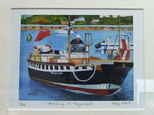 """Arriving at Teignmouth"" by Mike Wall"