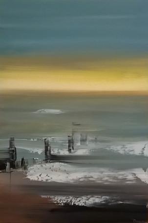 Jirka Ptacek 'Early Morning May - Teignmouth Beach'