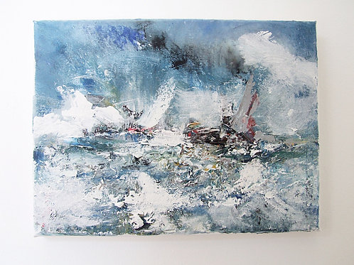 Impressionist Oil Painting by Robert Freame