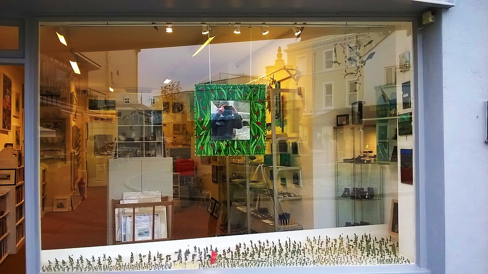 Remembrance day Window display