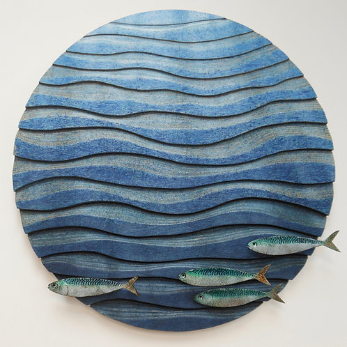 Enamelled Mackerel by Glenn Wilce
