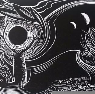 Paul Warner - handmade print