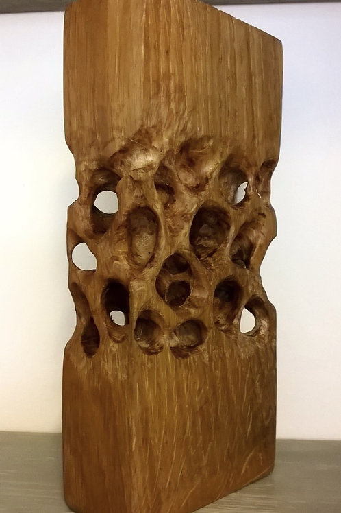 Oak Carving by Steve Carroll