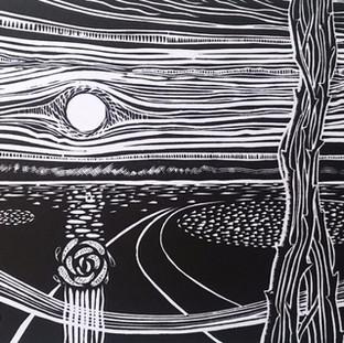 Paul Warner - handmade print 3