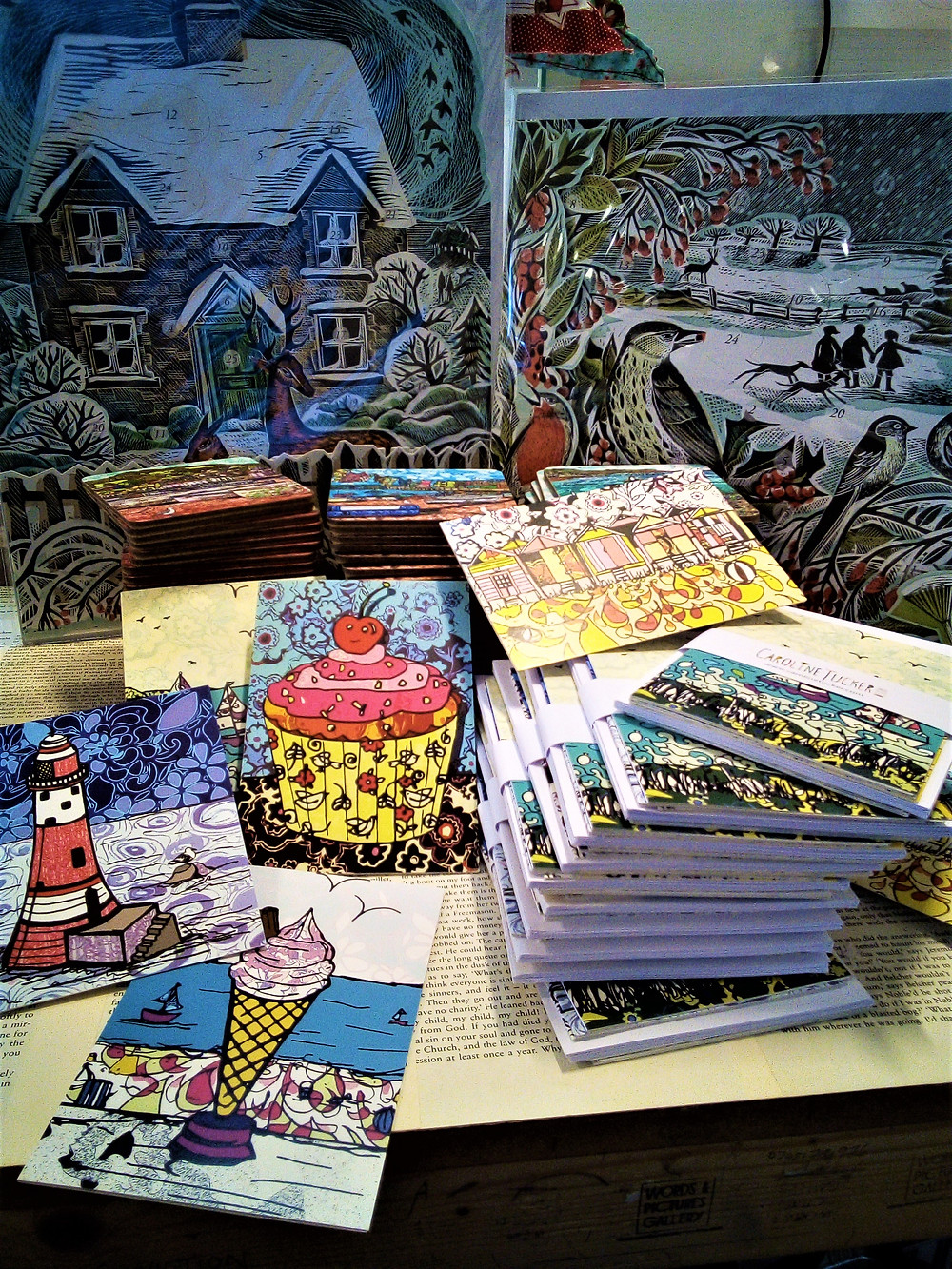 Advent Calendars, Christmas Cards and Gifts