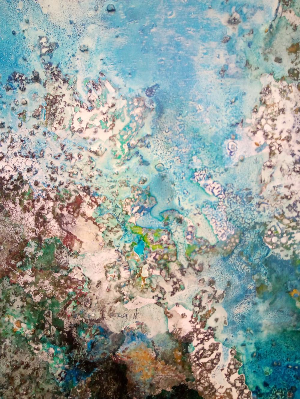 Mixed Media on Canvas 100cm x 100cm