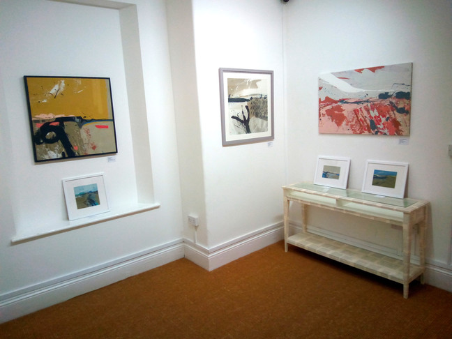 New Exhibition installed Sam Boughton - Recent Paintings
