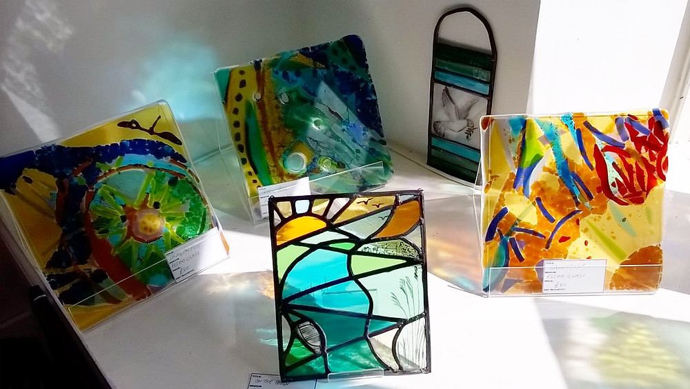 Amy McCarthy stained and fused glass