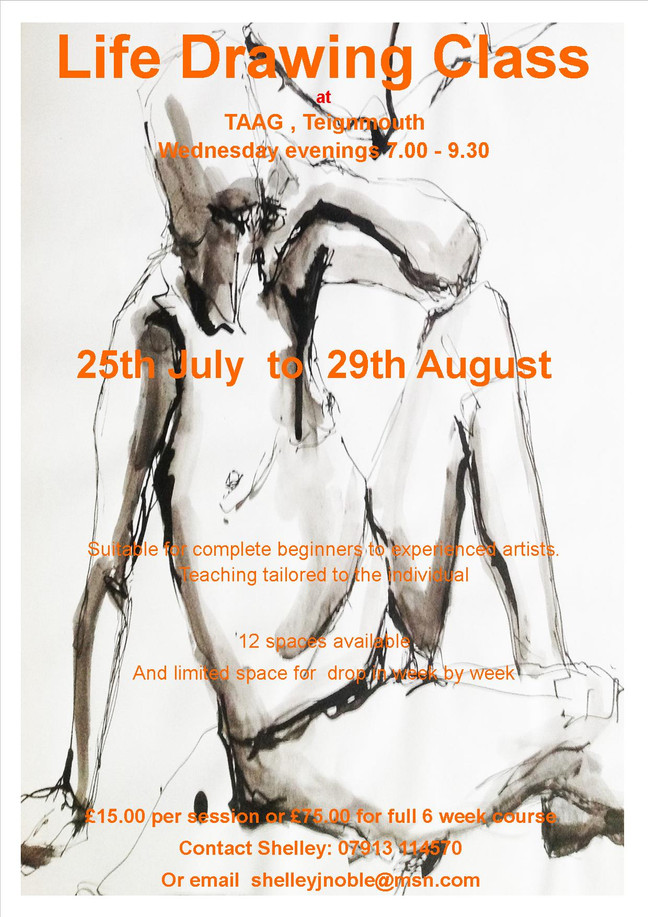 Summer Life Drawing Classes