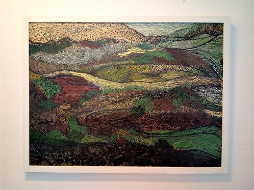 'Devon Fields No 8' By Rachael Bennett
