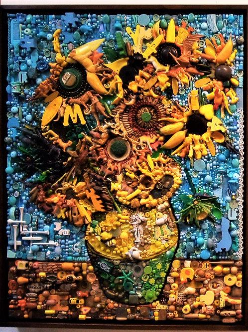 Homage to Van Gogh by Jane Perkins