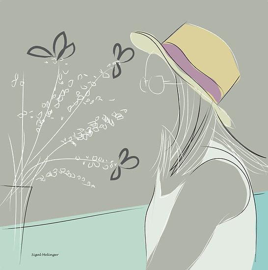 ״אישה עם כובע״