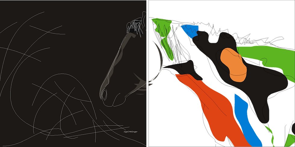 ״מעברים בצבע (2 חלקים)״