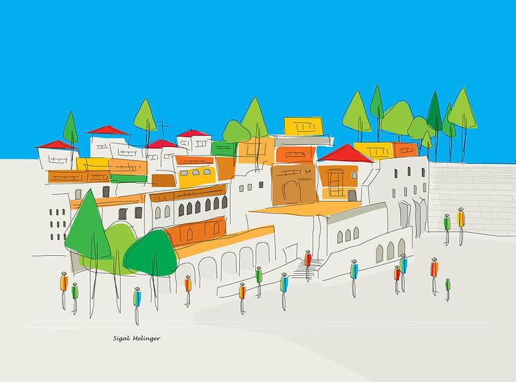ציור עיר עתיקה