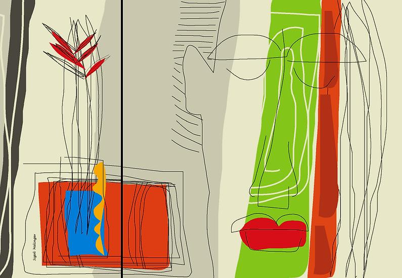 ״דיוקן (2 חלקים)״