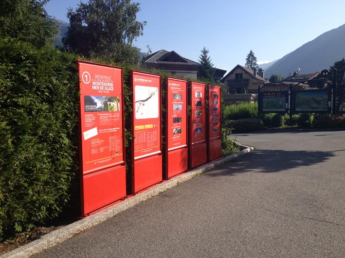 Signalétique Montenvers - Chamonix