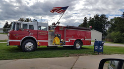 Fire Truck 9/11 Memorial at FP