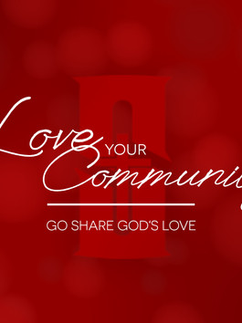 Will you join us in sharing God's love?