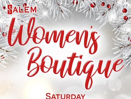 Vendors Needed for Salem's Women's Boutique