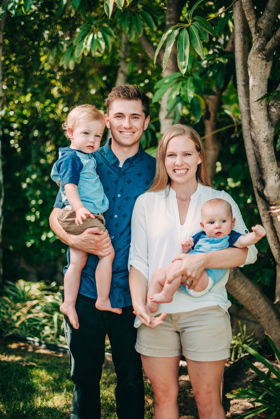 Nicole Kelso, Salem's Student Success Teacher, and her family