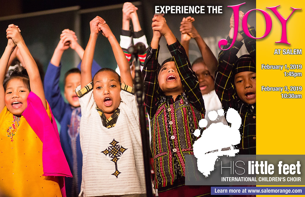 Experience the Joy of His Little Feet International Children's Choir!