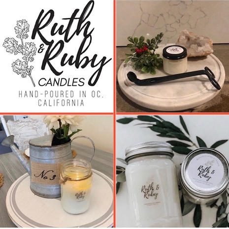 Ruth & Ruby Candles