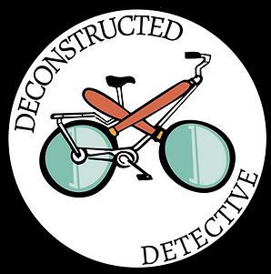 Deconstructed Detective Logo