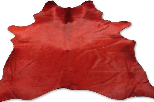 COLOURED HIDE (RED)