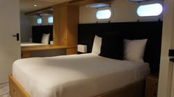 Queen cabin lower deck After
