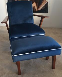 Retro Antique Gossip chair AFTER