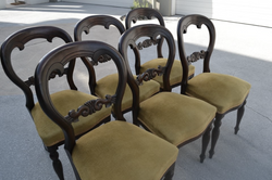 Antique Balloon Chairs BEFORE