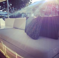 Main outdoor dining deck