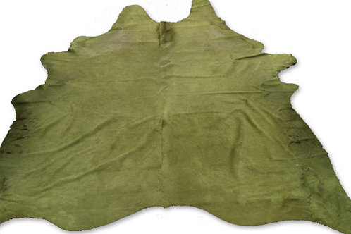 COLOURED HIDE (SAGE GREEN)