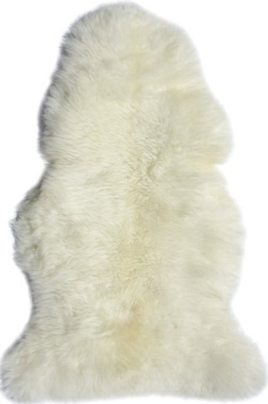 LONG WOOL SHEEP SKIN (WHITE)